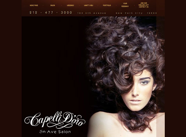 CAPELLI D'ORO SALON, NY CITY, NEW YORK
