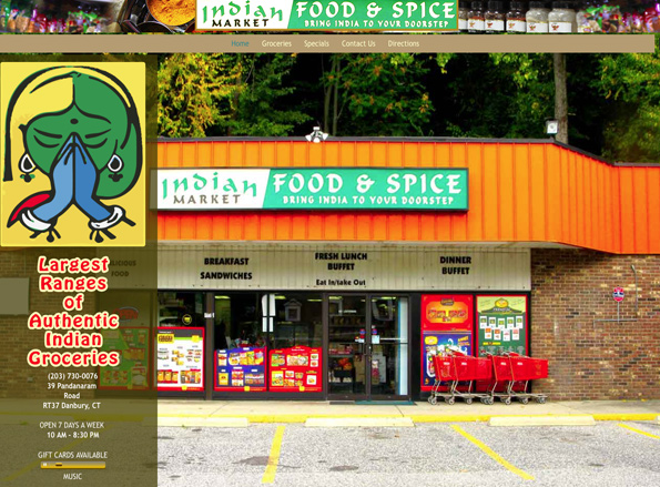 INDIAN FOOD AND SPICE, GROCERY STORE, DANBURY, CT